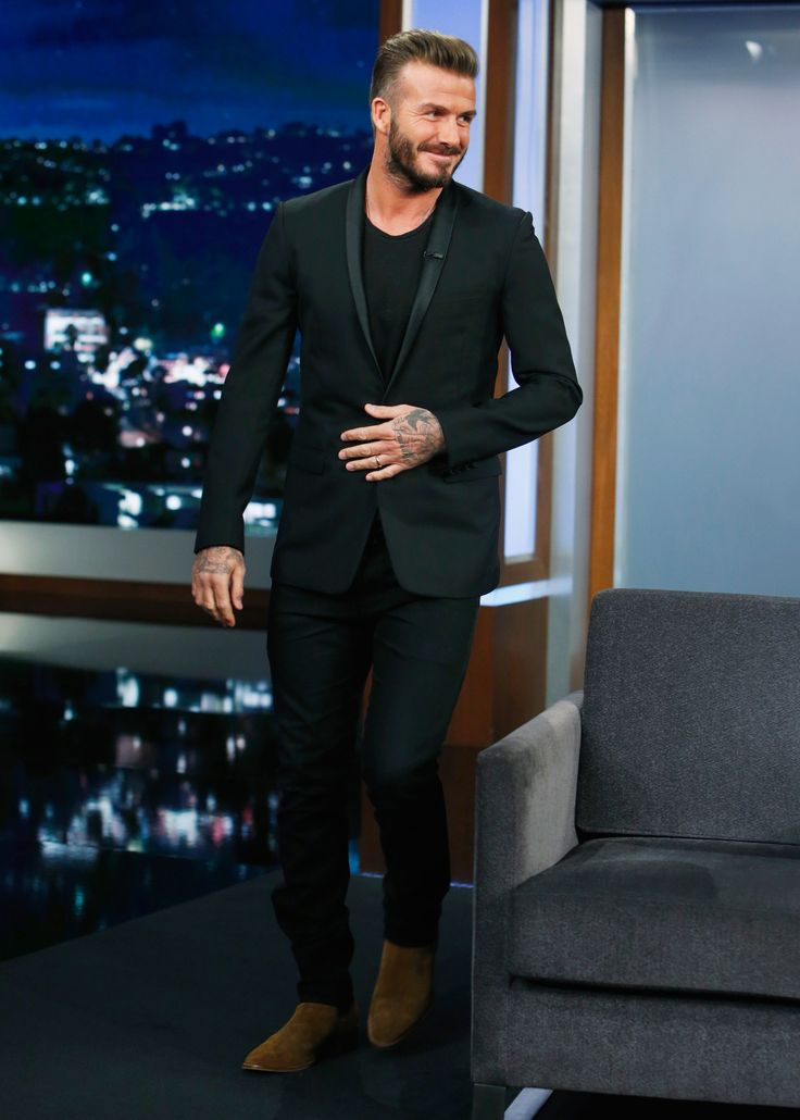 Style. The David Beckham Look Book Saying David Beckham dresses well is like stating grass is green or Hannah Davis is hot—it's just fact. The former footballer is as well known, if not more.