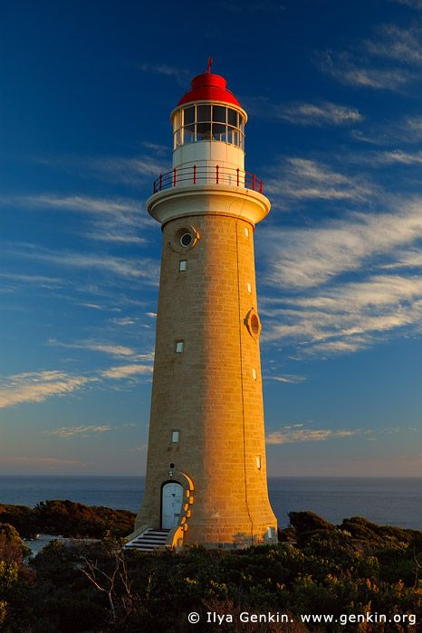 Cape du Couedic Lighthouse, Kangaroo Island, South Australia (SA), Australia. The Cape du Couedic Lighthouse was built between 1906-1909 on the ...
