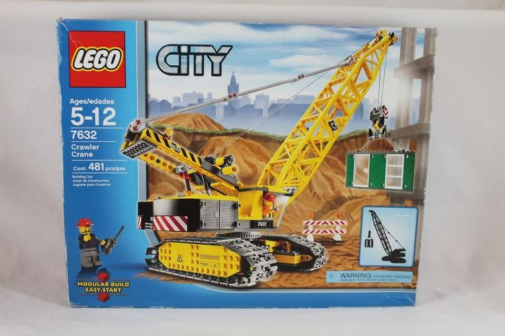 Lego City Construction Crawler Crane 7632, 100% complete, with box, instructions #LEGO