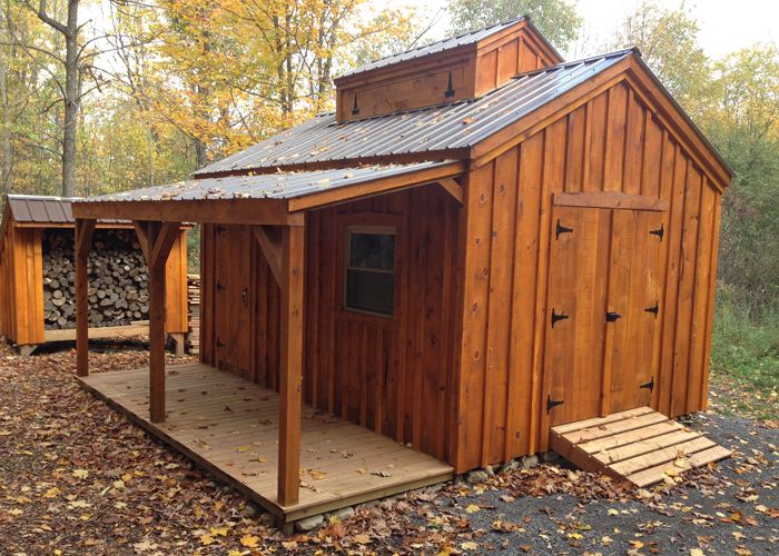 Order this quality shed from Jamaica Cottage Shop! Can be used as a backyard workshop, cottage, storage shed & more. Comes pre-fabricated, in a kit or a plan.