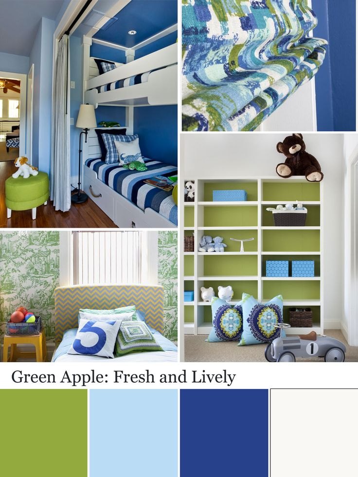 Apple Green Color Palette   Apple Green Color Schemes. Boys Bedroom ...