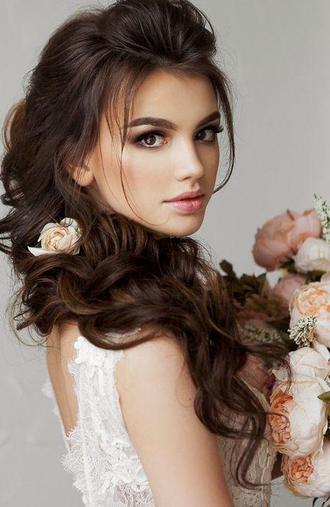 Featured Hairstyle  Elstile  www.elstile.ru  Wedding hairstyle idea. 5bea335df0177