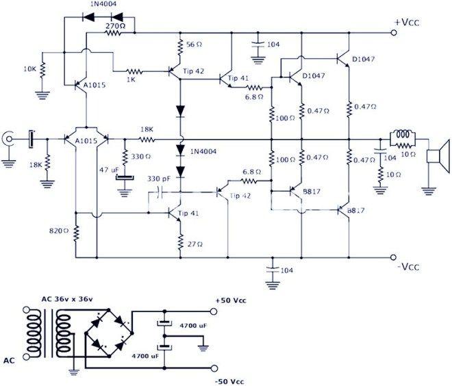 Pin On Audio Amplifier