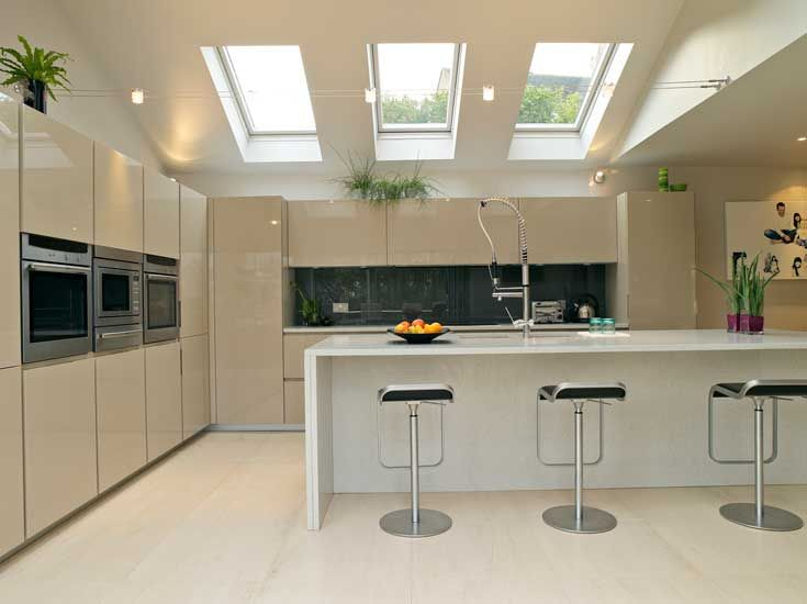 Velux windows - would like these in kitchen on sloping roof