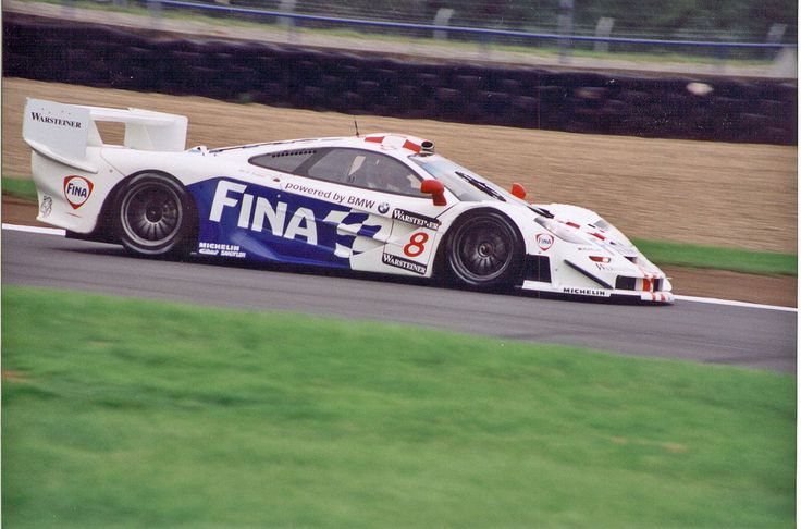 1996 BMW Motorsport Le Mans McLaren F1 GTR on track at Mid-Ohio - http://www.bmwblog.com/2014/06/12/1996-bmw-motorsport-le-mans-mclaren-f1-gtr-track-mid-ohio/