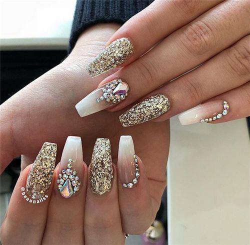 Superb Wedding ceremony Nails Designs For Bride