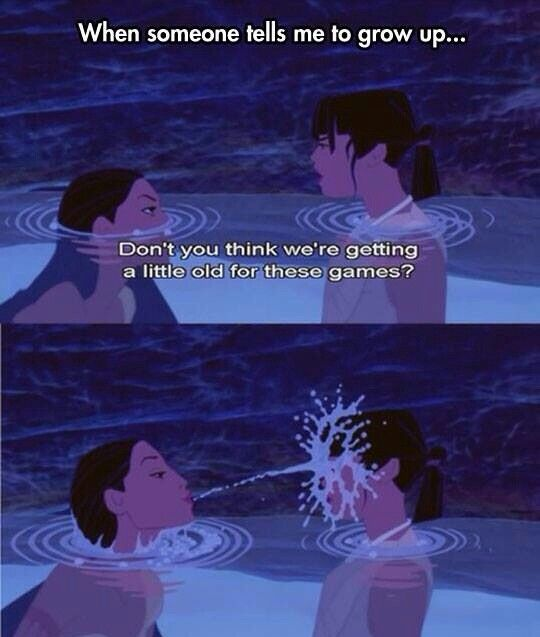 Pocahontas funny Disney