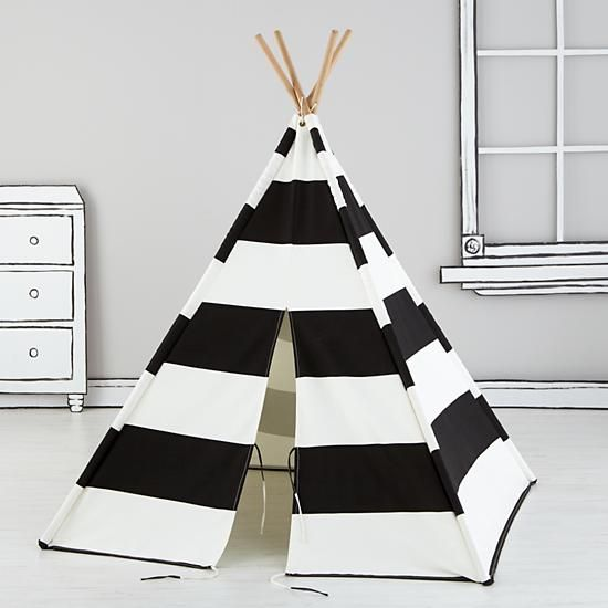 Everyone needs a little space just for themselves. These teepees are the perfect home away from home.