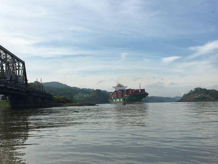 Panama Canal Sector close to Gamboa Rainforest Resort adjacent to Soberania National Park