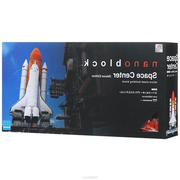 Nanoblock Мини-конструктор Космический Центр Deluxe