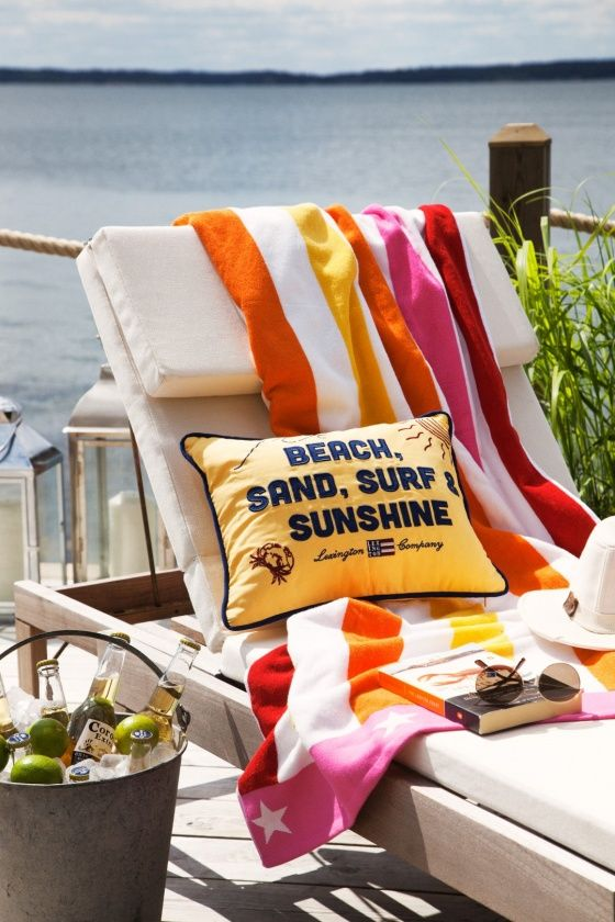 Nothing quite says summer like the new Lexington Seaside Collection. This…
