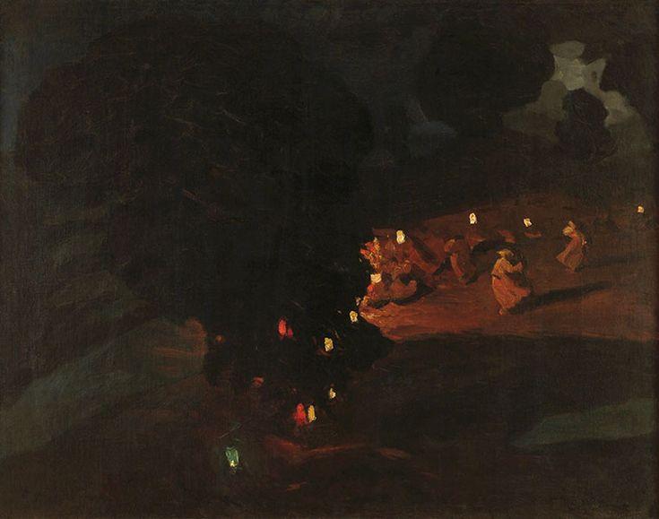 Ferdynand Ruszczyc  - Sobótki, 1898