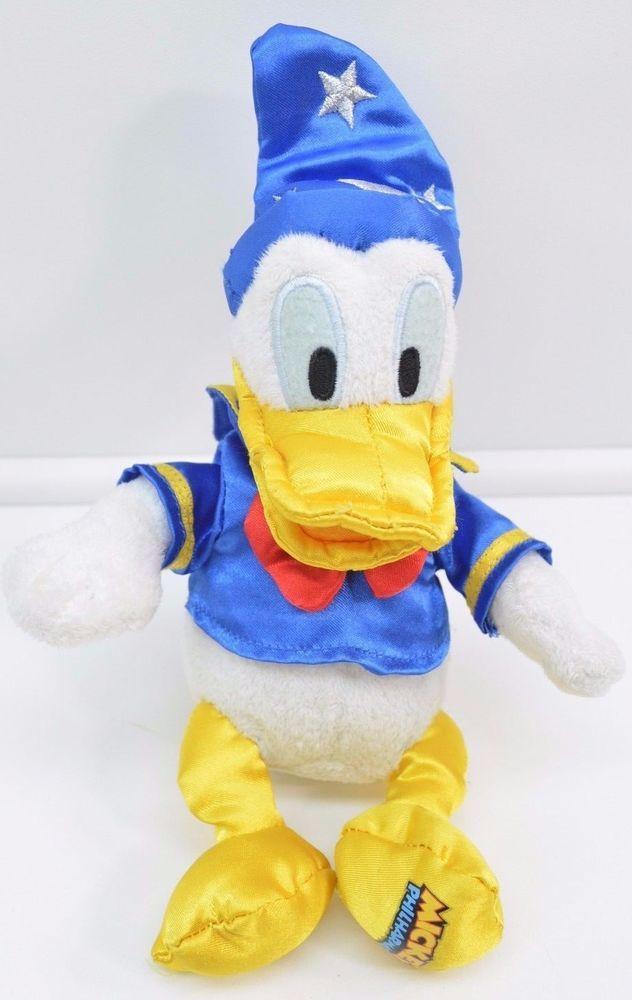 Disney Philharmagic Sorcerer Donald Duck Plush 8