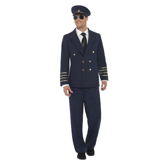 Halloween Empire Online Is Coming Soon Pilot Costume Mens Halloween Fancy Dress Fancy Dress Costumes