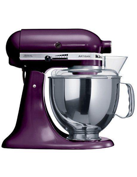 NEW KitchenAid KSM150 Artisan Stand Mixer - Boysenberry 91072 Purple
