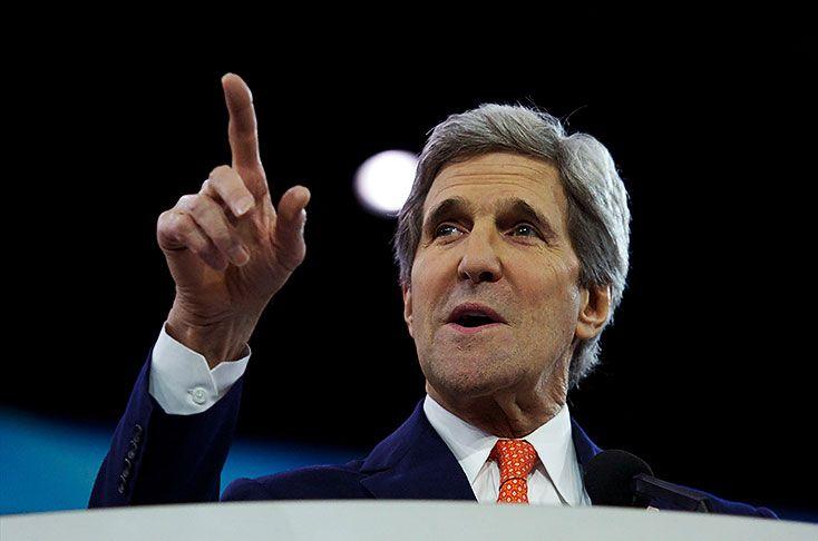 """13 MAR 2014. (IPITIMES: NOTICIAS DE LAS MEJORES FUENTES) INTERNACIONALES > EE.UU. UE RUSIA - """"EE.UU. y UE impondrán medidas muy serias a Rusia si no cede: John Kerry"""" - diario El Pais, España."""