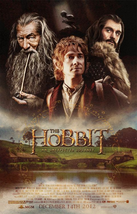 Should be good! Can't wait for the movie adaptation.: Movie Posters, Unexpected Journey, Cant Wait, Martin Freeman, The Hobbit, Book, Middle Earth, Hobbit Posters, Lotr Hobbit