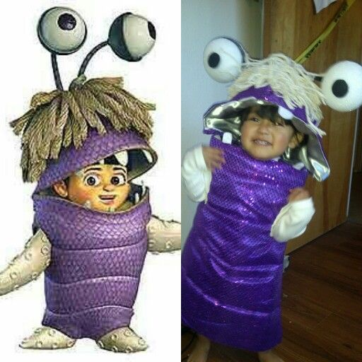 DIY Boo monsters inc costume. This was the first time making my own costume let alone sewing. I wanted a boo costume for my baby but couldnt find it anywhere so i had to make it and this is what i came up with. Im so proud of myself. couldnt have done it without my Momma.  *^▁^*