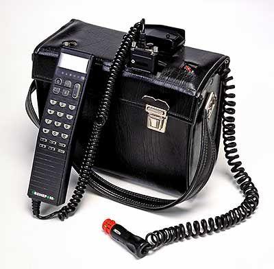 Benefon Forte 80-luvun alkupuolelta.