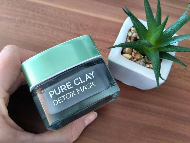 BeYOUtiful: L´oreal Pure Clay - nová detoxikačná pleťová maska