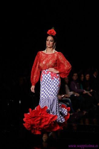 Traje de Flamenca - Pilar-Rubio- - SIMOF-2014-
