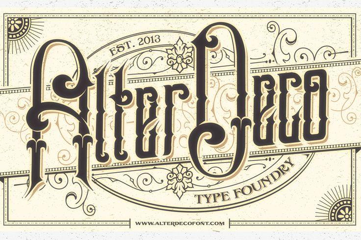 20 Old School Fonts for Creating Vintage Sign Art ~ Creative Market Blog