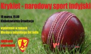 http://wjakwarszawa.info/2014/03/19-00-krykiet-narodowy-sport-indyjski-spotkanie/  19.00 – Krykiet – narodowy sport indyjski – spotkanie  #Warszawa #Wawa #Krykiet