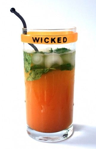 Pumpkin Mojito -- I'd do mine with vodka..and minus the pumpkin syrup. Hmmm. Maybe. *Shrug*