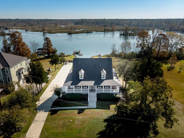 Amazing home that sits on the banks of cooper river on
