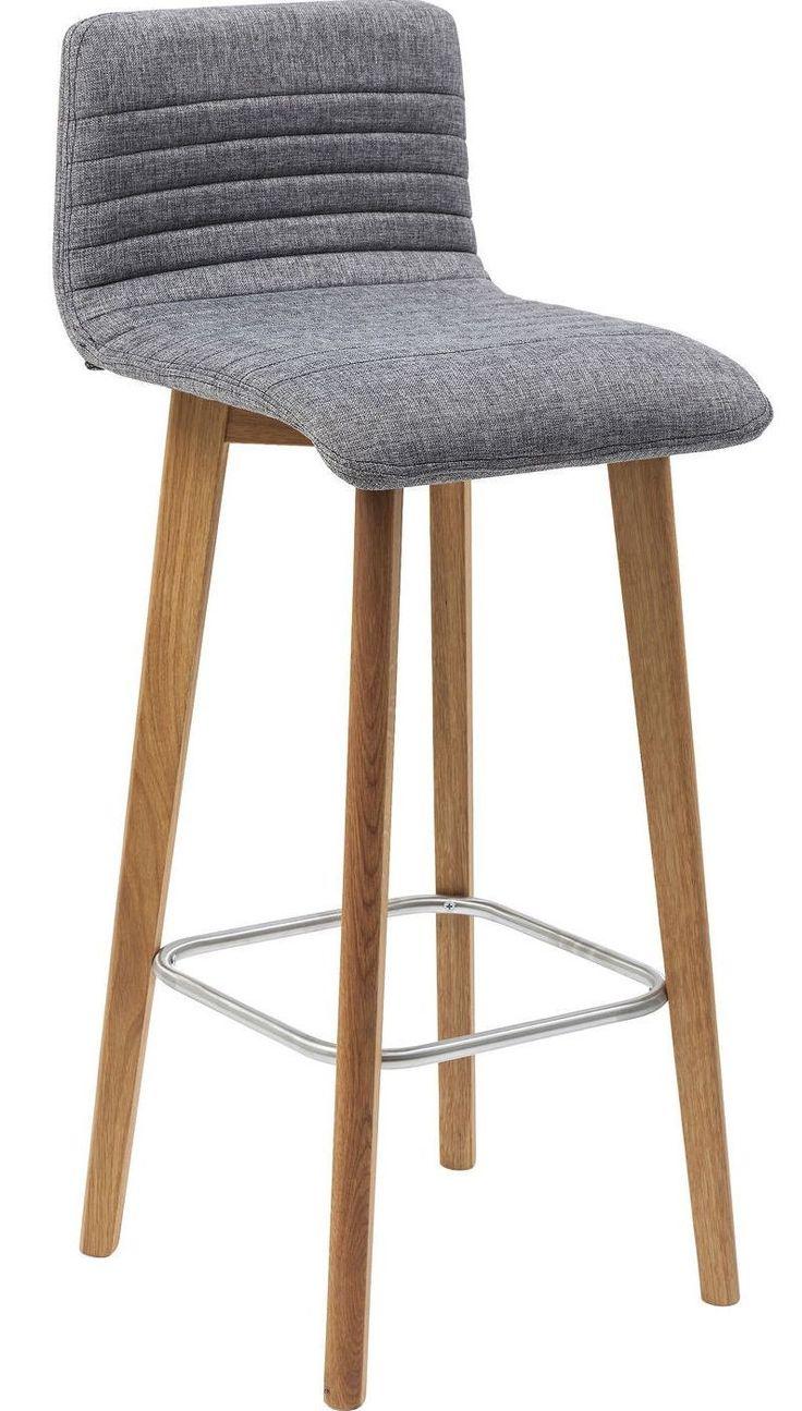 Barkruk Levi grijs - Kare Design