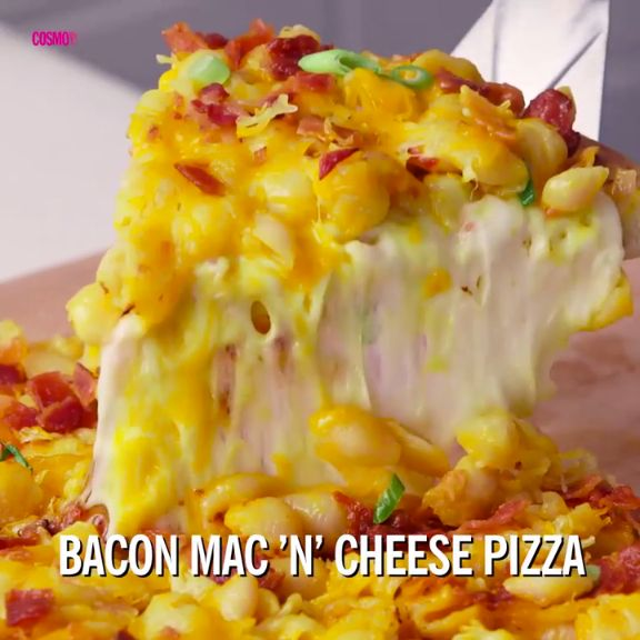 July 14 is National Mac 'N' Cheese Day! Celebrate with this crazy delicious spin on two cheesy classics.