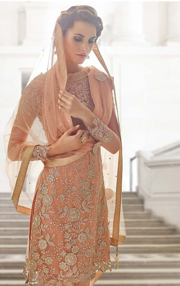 Ethnic Salwar Kameez  Anarkali  Indian Pakistani  Designer Suit Bollywood Dress #NewIndianEthnicHouse…