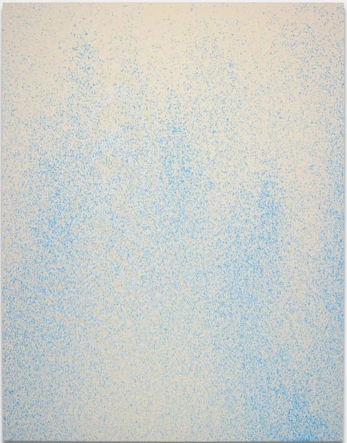blastedheath:  Lucien Smith (American, b. 1989), Almost Faded, 2012. Acrylic on unprimed canvas, 108 x 84 in.