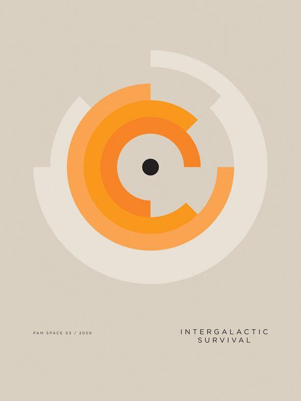 Designer grahique anglais autodidacte basé à Manchester, Paul Tebbott est aussi membre du groupe de musique électro «Horizon Fire».