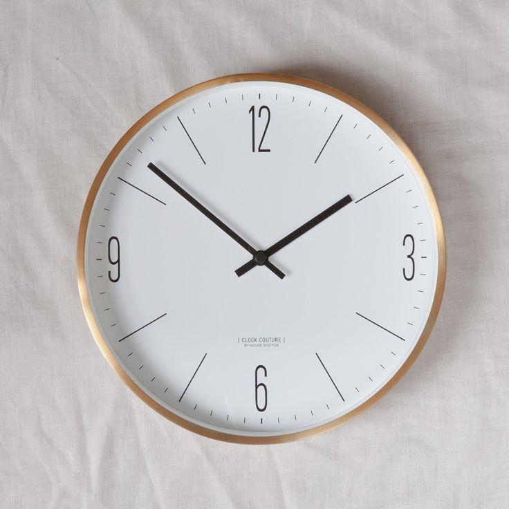 brass wall clock clock white wall clocks wall on wall clocks id=77280