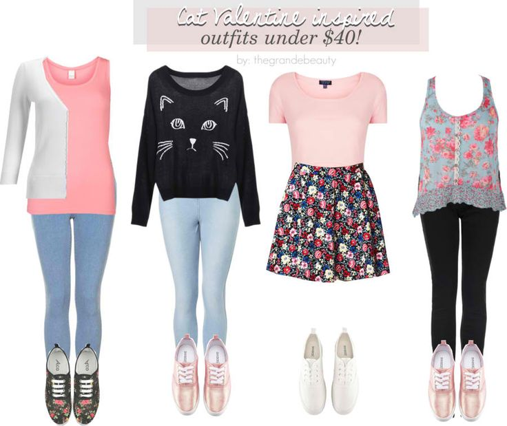 cute isn't it??Cat Valentines's outfit from Victorious!! :))