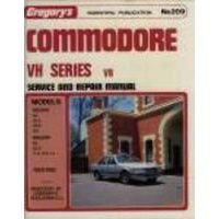 Holden Commodore VH/VK V8 Workshop Repair Manual 1981-1985 with MPN GAP04209