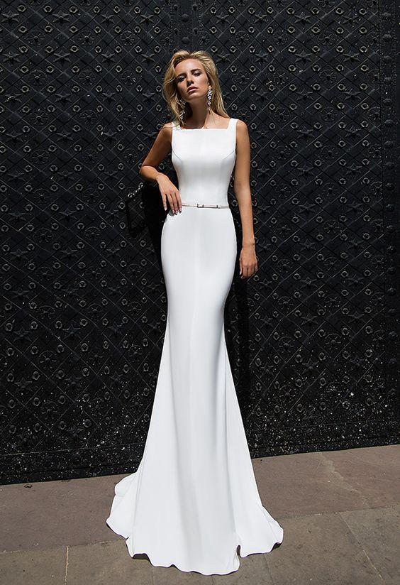 The Best Minimalist Wedding Dresses Ideas On Pinterest