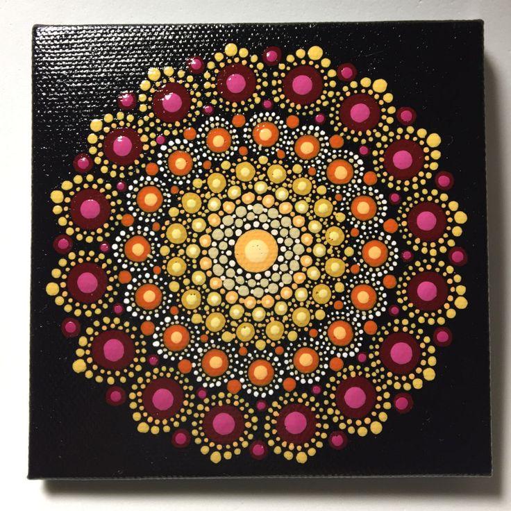 Sea Urchin Mandala Stone