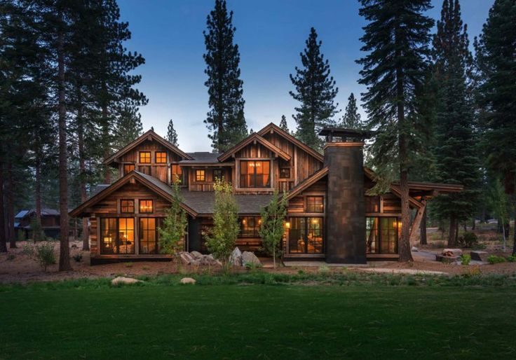 cozy mountain style cabin getaway in martis camp on modern cozy mountain home design ideas id=57076
