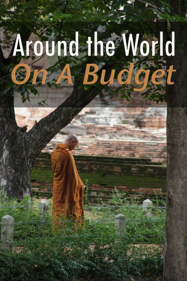 Find out how to travel the world on a budget. #budgettravel