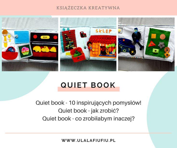 Quiet book książeczka kreatywna