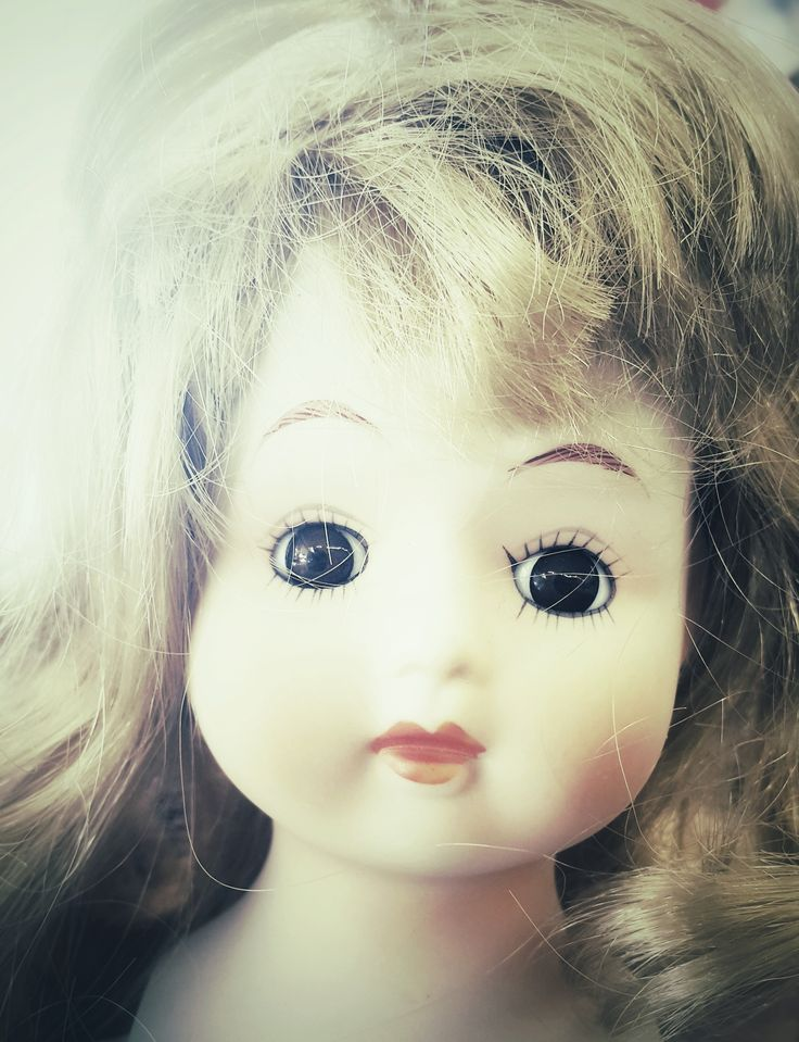 'Sunny', Charity shop doll.