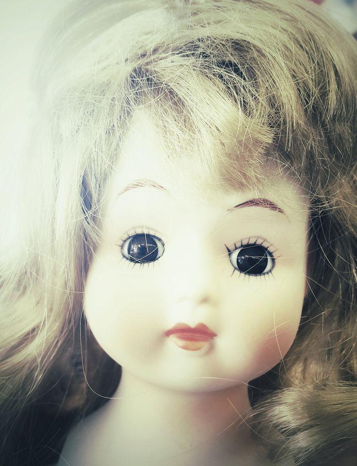 'Sunny', Charity shop doll.