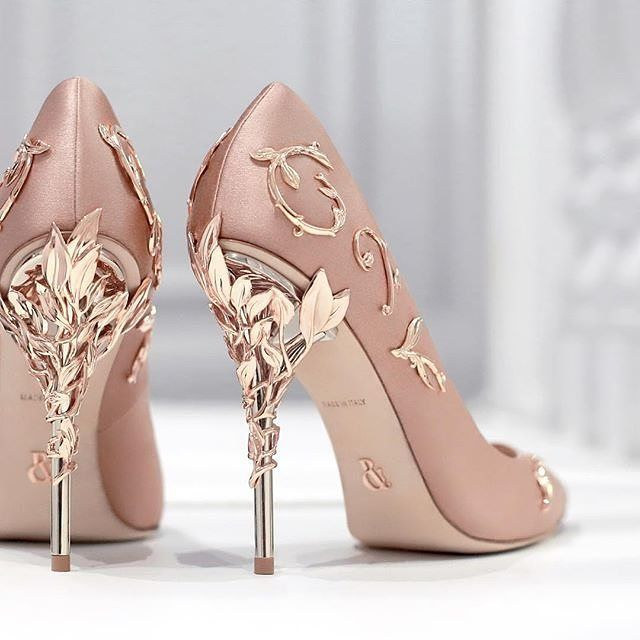 Don't love the side design, but the heel part is beautiful!