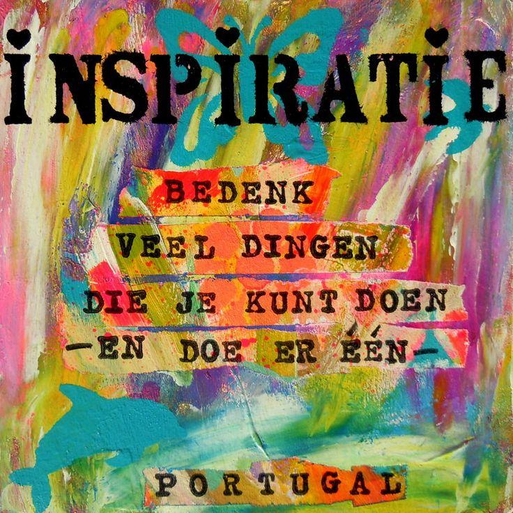 inspiratie: zin krijgen om iets te gaan maken