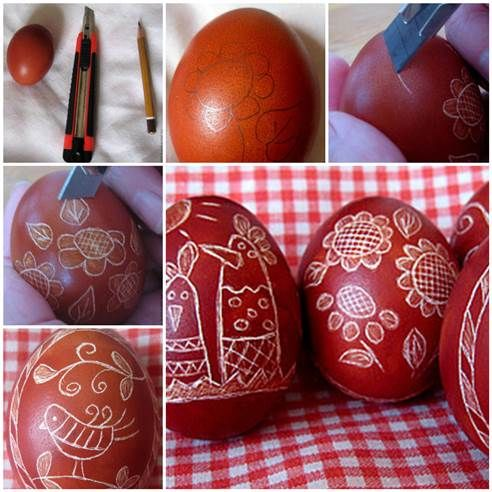 DIY Uniquely Decorated Easter Eggs 3