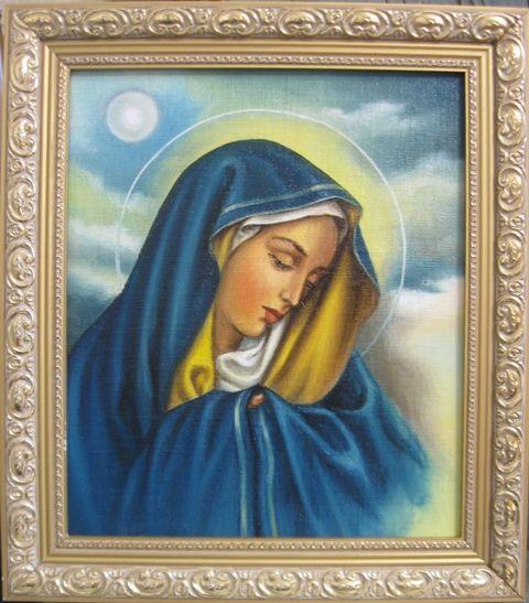 Дева Мария Скорбящая (холст,масло0