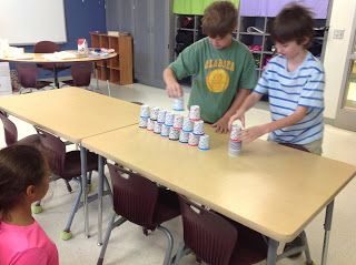 Minute to Win it...tons of pics, ideas for super fun activities and a freebie!