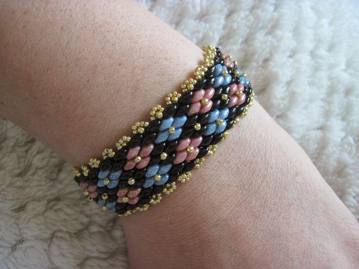 bracelet Super Duo Step by Step